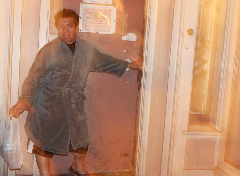 Robe in Doorway